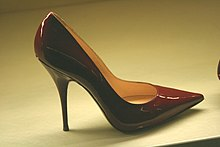 Talon (chaussure) — Wikipédia