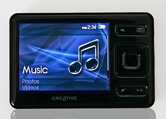 Portable media player - Creative ZEN