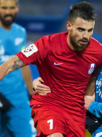 Damien Le Tallec - Le Tallec with Mordovia Saransk in October 2015