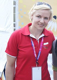 Nadieżda Zięba Badminton player