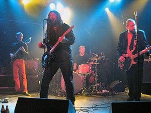 Zook (band) - l-r: Rocka Merilahti, Bryn Jones, Sami Kuoppamäki, Jukka Jylli
