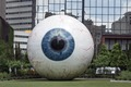 """The Eye,"" a 30-foot-tall eyeball sculpture in Dallas, Texas LCCN2014632601.tif"