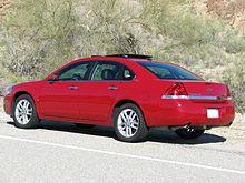 Chevrolet impala wikipedia pre facelift chevrolet impala ltz publicscrutiny Image collections