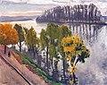 (Albi) La seine à la Frette en Automne (1938-39) - Albert Marquet MTL.inv312.jpg