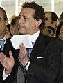 (Alfonso Ussía) Fernández de la Vega acude a un acto en apoyo de las víctimas del terrorismo en el diario La Razón. Pool Moncloa. 16 de julio de 2008 (cropped).jpeg