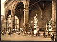(The Lodge of the Lancers (i.e. Loggia dei Lanzi), Florence, Italy) LOC 4712014566.jpg