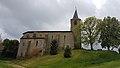Église Saint-Abdon-et-Saint-Sennen de Labéjan - Façade nord 1.jpg