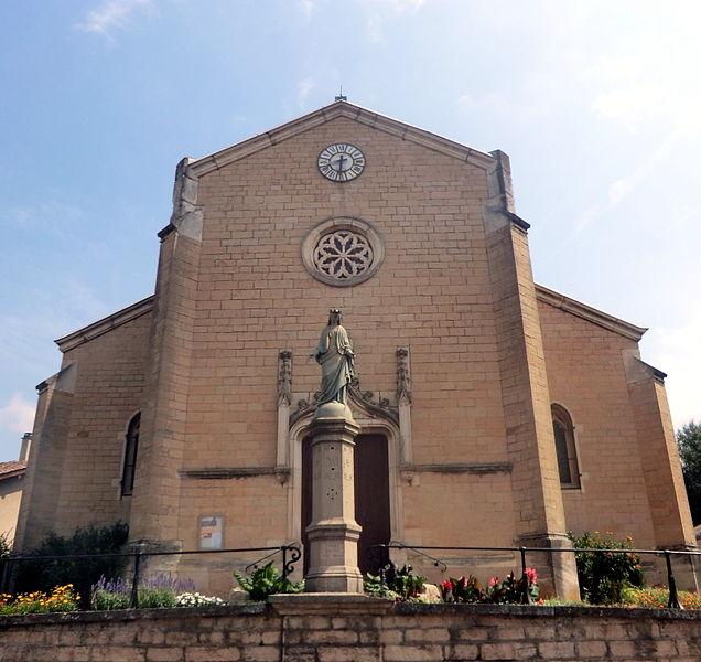 Église de Misérieux.