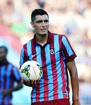 Óscar Cardozo - Cardozo with Trabzonspor in 2014