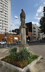 figura świętej Barbary na Solcu