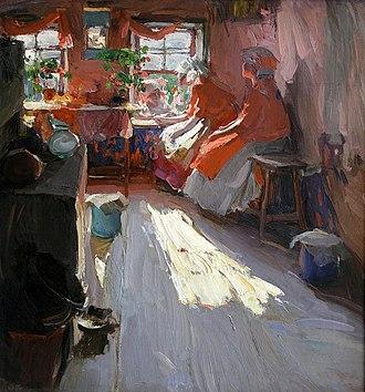 Abram Arkhipov - Image: Архипов Весенний праздник 1913