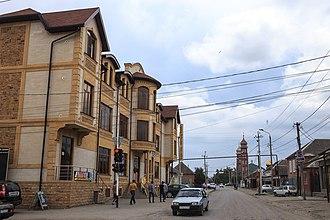 Shalinsky District, Chechnya - Town of Shali, Shalinsky District