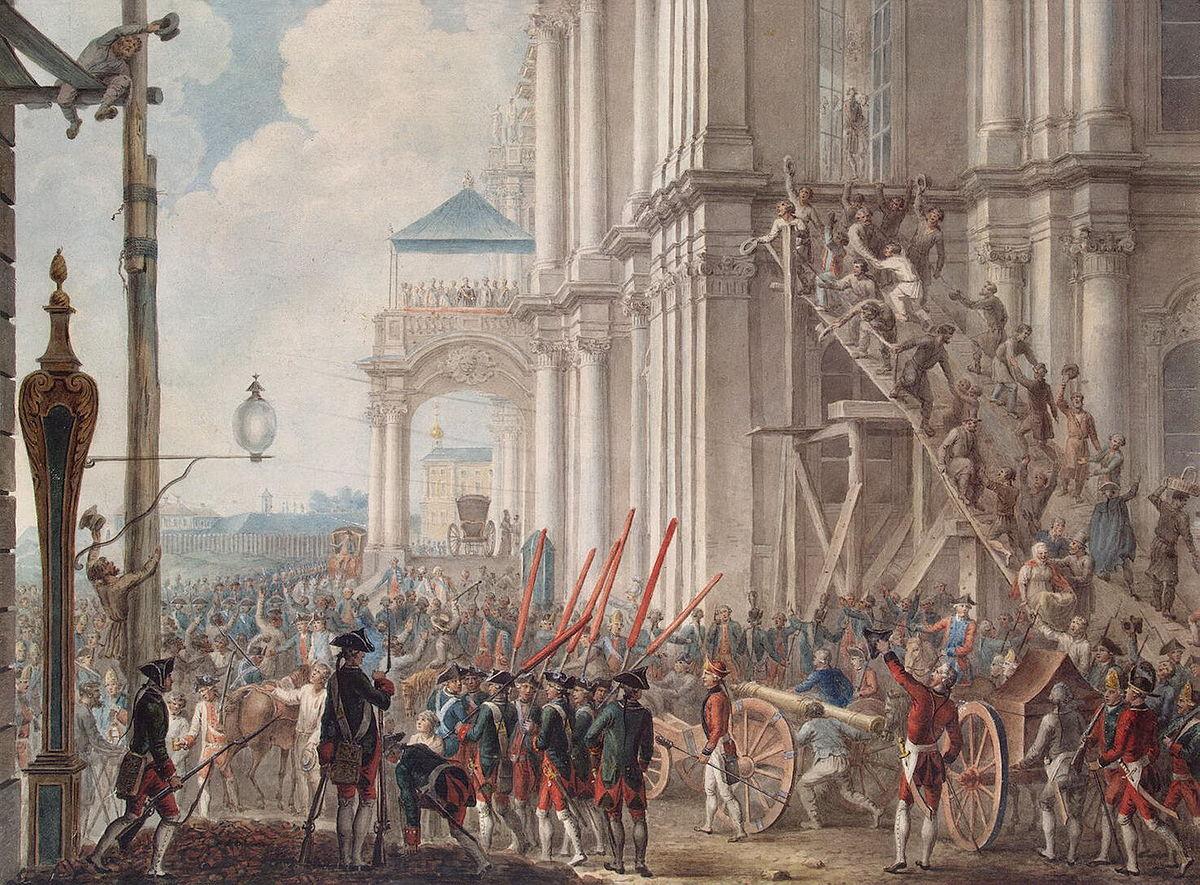 Дворцовый переворот года Википедия