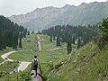 Казахстан Алматы дорого к Алмаатинскому озеру 2008 год - panoramio.jpg