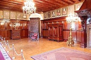 Nesvizh Castle - The Radziwiłł portrait gallery