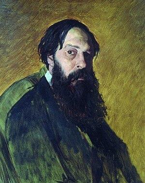 Alexei Savrasov - Portrait of Savrasov by Vasily Perov, 1878