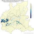 Расселение мордвы в ПФО по городским и сельским поселениям в %.png