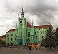 Ратуша города Мукачево - Town Hall of Mukachevo (10464197505) crop.jpg