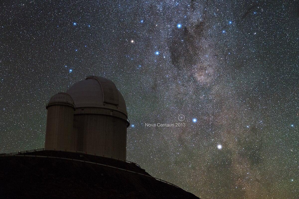 Astroblog: Nova Centauri 2013 (7 December 2013)