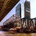 Строительство ЖД моста через Москву-реку МК МЖД перегон Кутузово - Пресня (14332170883).jpg