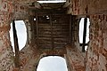 Церковь Святой Троицы, д. Гривино. Колокольня, вид изнутри.jpg
