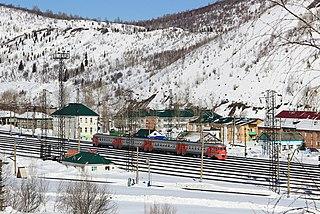 Biskamzha Urban-type settlement in Khakassia, Russia
