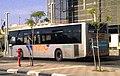 אוטובוס של מטרודן בתחנת הרכבת באר שבע צפון.jpg