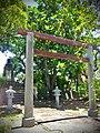 嘉義縣蒜頭糖廠文化景觀-日式神社鳥居與國父銅像.jpg