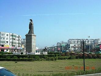 Feidong County - Image: 安徽省合肥市肥东街景 panoramio luchangjiang~鲁昌江