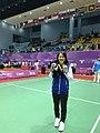 江美惠於2017年世大運奪得羽球團體金牌.jpg