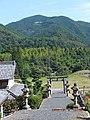 稲荷神社から見る大茂山 - panoramio.jpg
