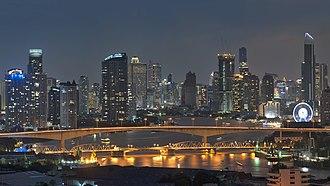 Economy of Thailand - Bangkok, commercial hub of Thailand