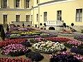 016. Павловск. Большой дворец. Собственный сад.jpg