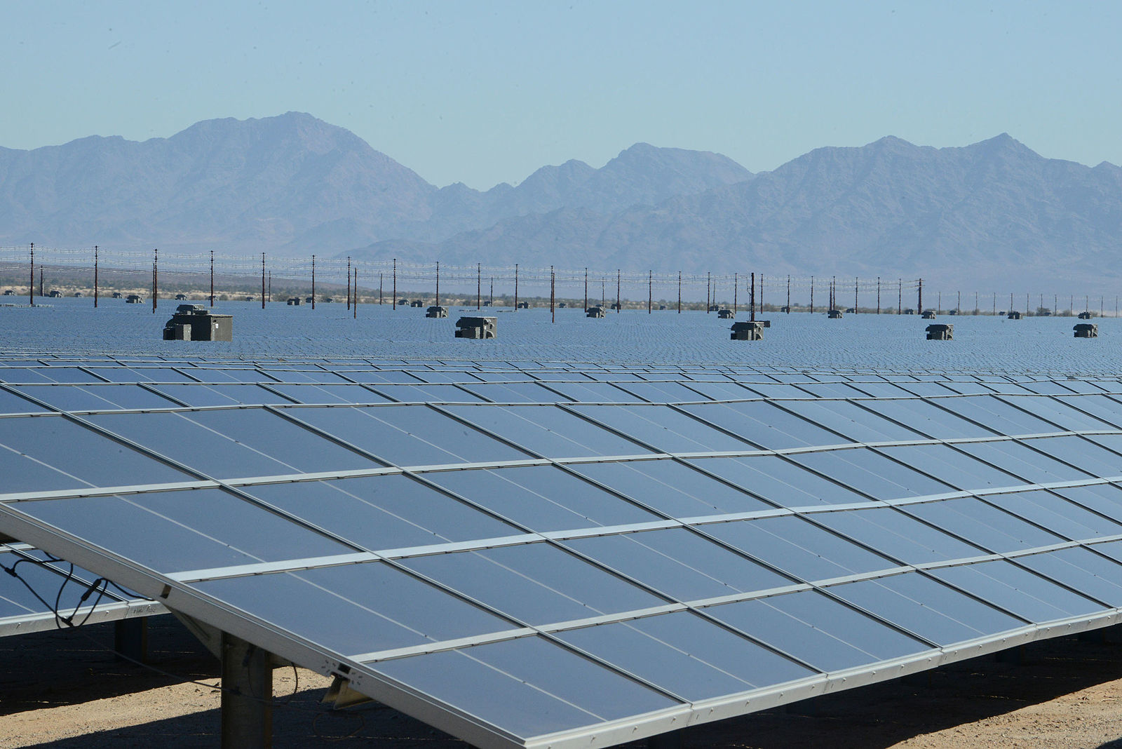 Biden Admin Approves Massive Solar Project in CA Desert