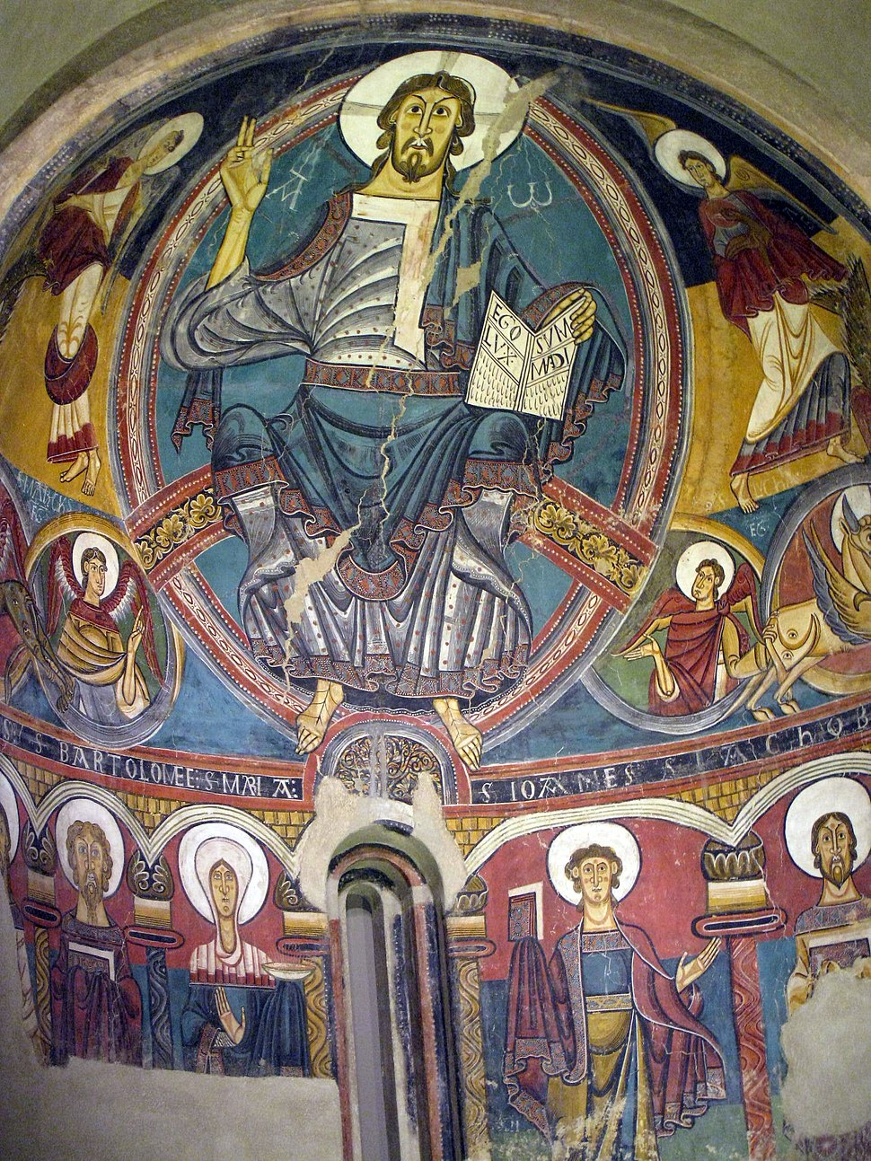044 Absis de Sant Climent de Taüll, el Crist en majestat