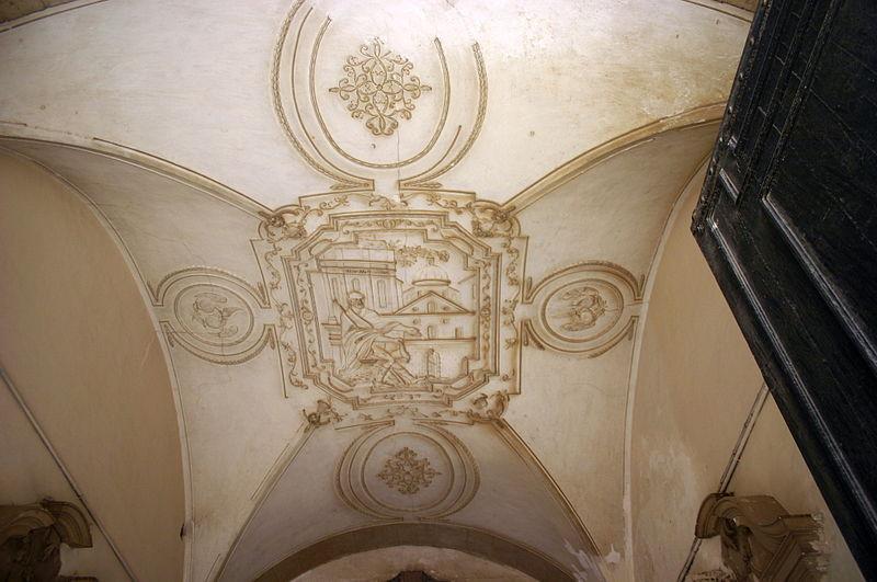 File:0649 - Siracusa - Soffitto androne di Palazzo Beneventano del Bosco - Foto Giovanni Dall'Orto, 22-May-2008.jpg