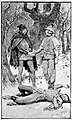 08 And there lies the lay of mine enemy-Illustration by H. M. Paget (1856-1936) for The Black Arrow by RL Stevenson - courtesy of British Library.jpg