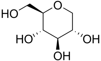 1,5-Anhydroglucitol - Structure of 1,5-anhydroglucitol