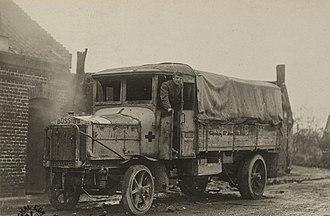 Büssing - Büssing 5t army truck in 1918