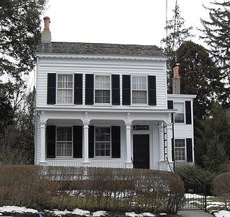 Political views of Albert Einstein - Einstein's house in Princeton, NJ