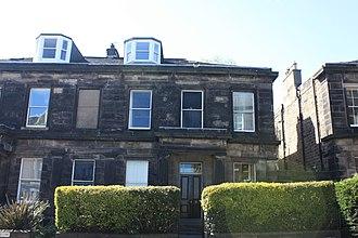 Roger Hale Sheaffe - Sheaffe's house at 12 Inverleith Row, Edinburgh