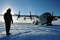 139th Airlift Squadron - Lockheed LC-130H Hercules in Antarctica.jpg