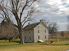 Byers Muma House East Donegal Township Lancaster County Pennsylvania Built Ca 1740 German Colonial