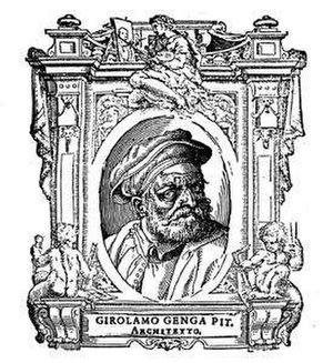 Girolamo Genga - Image: 140 le vite, girolamo genga