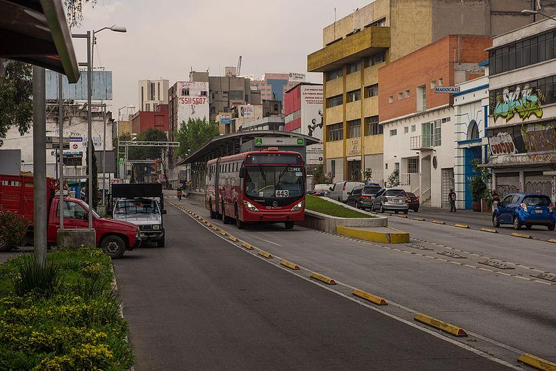 metrobus cidade do mexico
