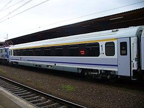 156A – wagon 1 klasy z przedziałami biznesowymi