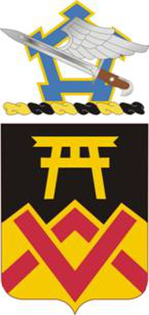 Coats of arms of U.S. Support Battalions - Image: 173Support Bn COA