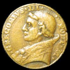 Image du pape Grégoire III