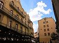 182 Plaça de Nostra Senyora de la Cinta (Tortosa), a l'esquerra la casa Grego.JPG