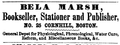 1852 BelaMarsh Cornhill Boston MassachusettsRegister.png